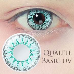 QUALITE 1day UV Basic ラムネ(6枚,PWR 0.00~-8.00)
